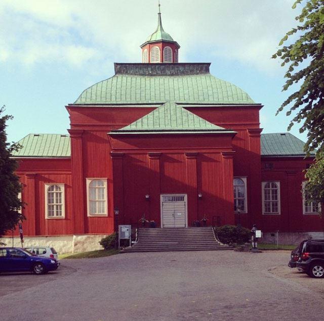 Amiralitetskyrkan Ulrica Pia och Gubben Rosenbom