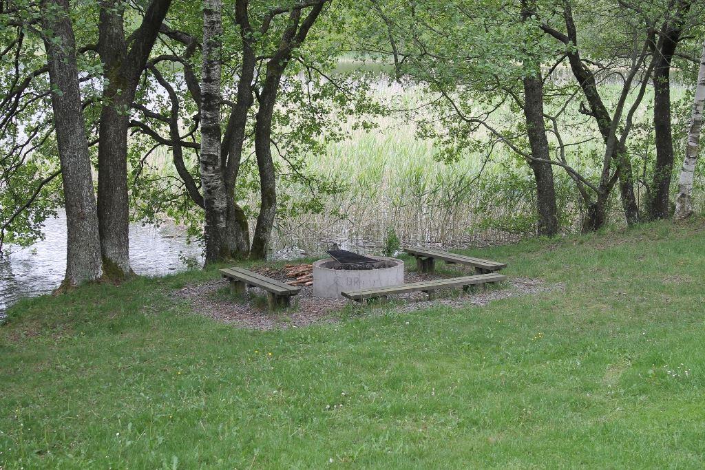 Hjortsjöns camping, Grillplats