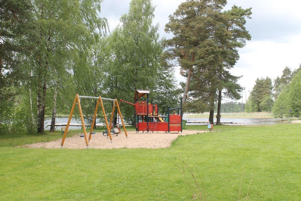 Hjortsjöns camping, Lekplats