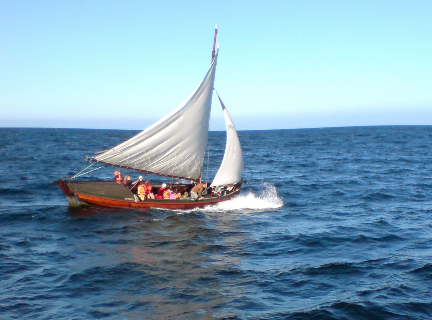 Emma Sunden, Sail with the Holmö Barge