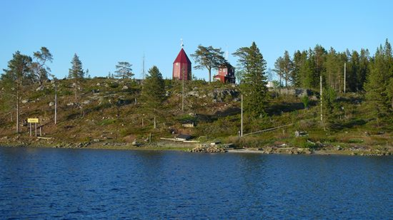 Ratan - idyllisk by vid havet