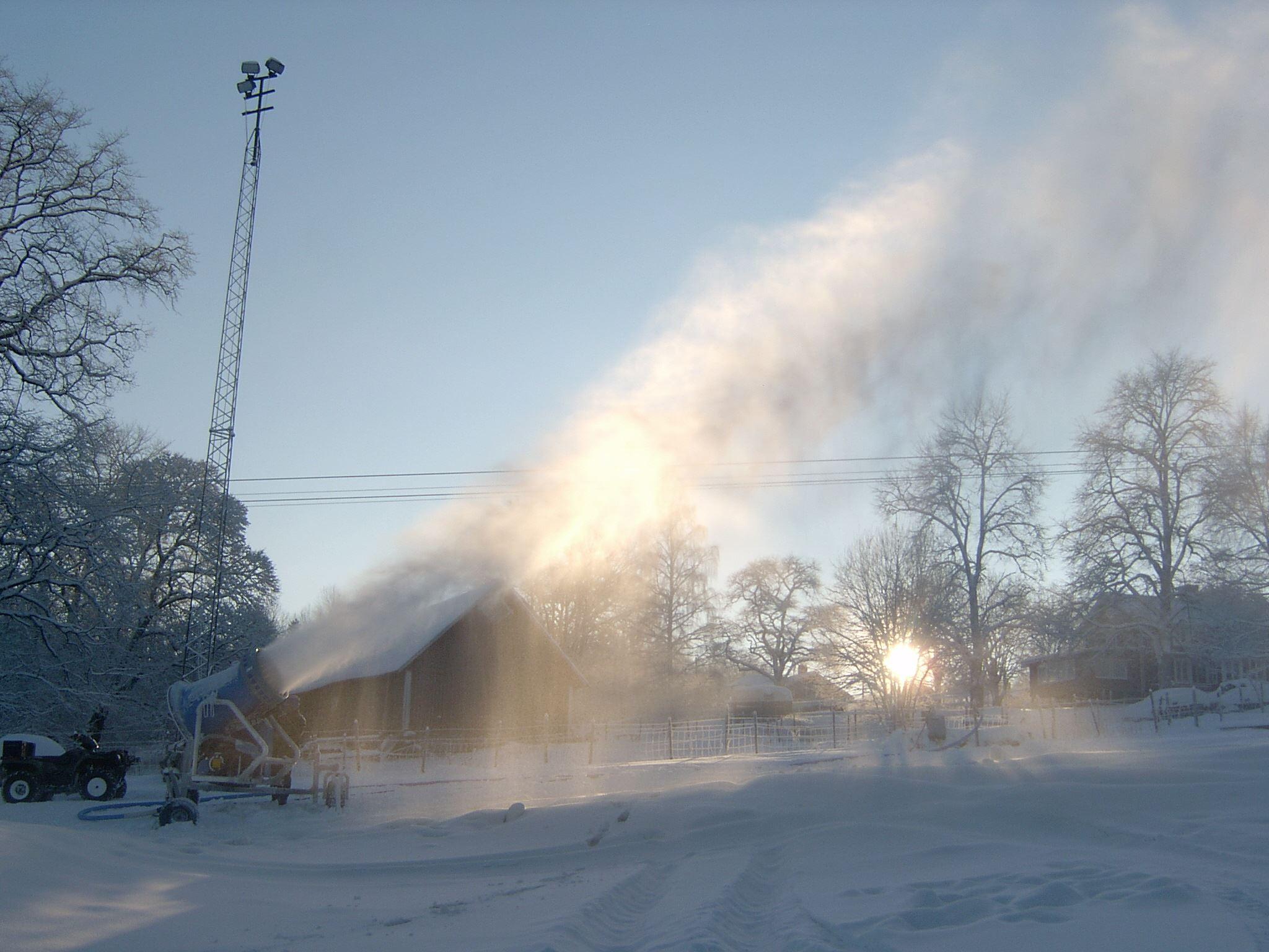 Vaggeryds kommun, Kyllåsbacken - Snökanon