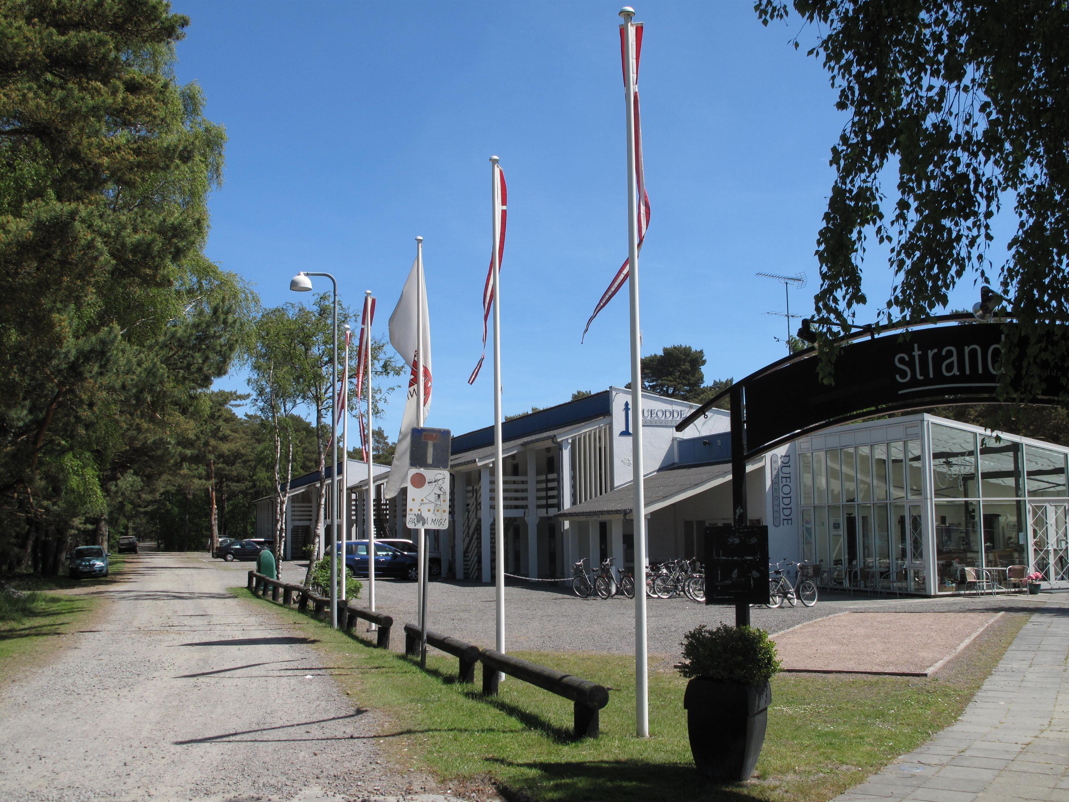 Dueodde Badehotel - Ferielejligheder på Dueodde