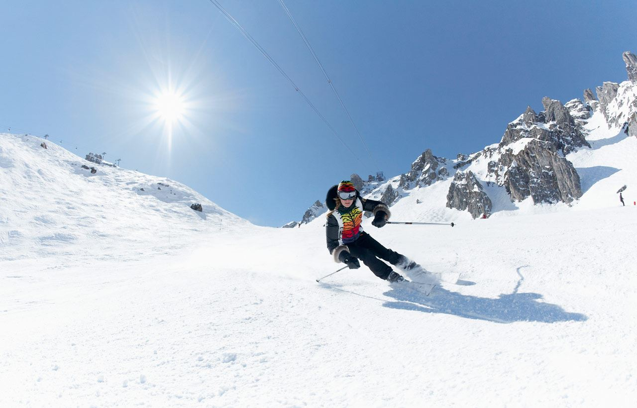 6-day ski passes 3 Valleys ski area