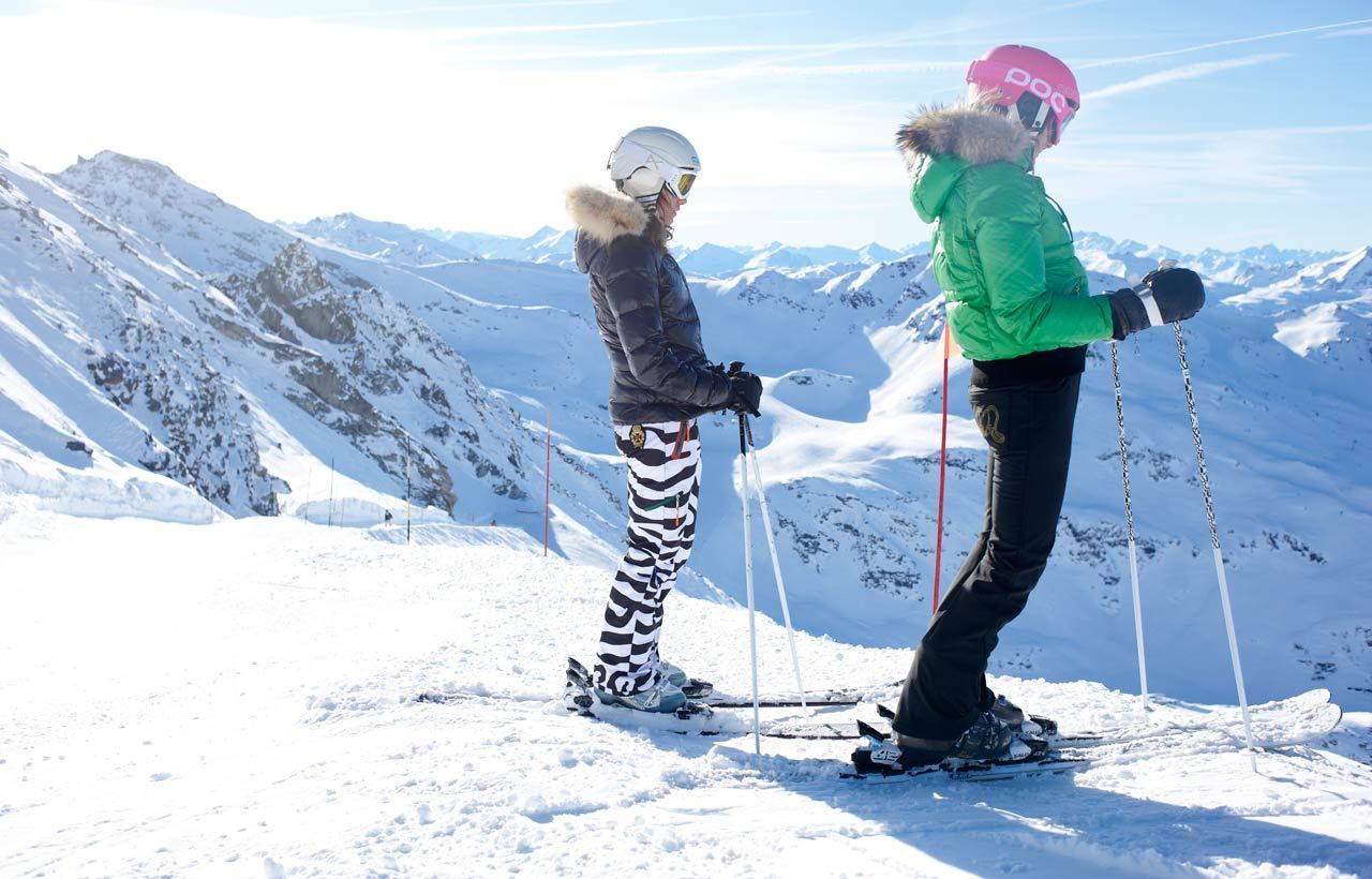 2-day ski passes Valley of Courchevel