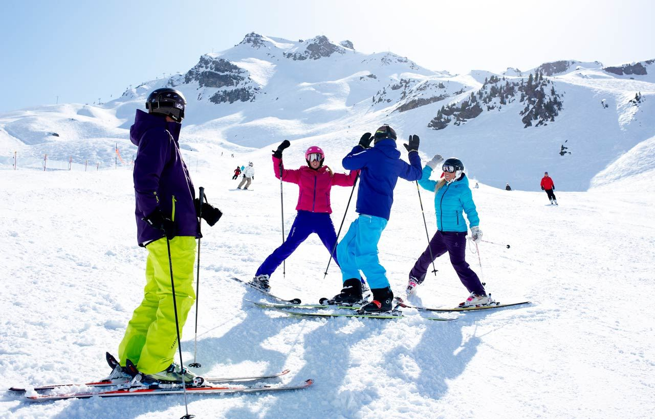 FAMILY SKI PASSES COURCHEVEL VALLEY