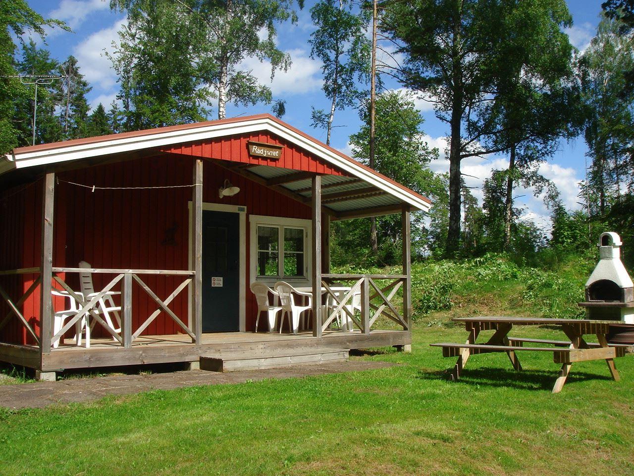 Getnö Gård - Lake Åsnen Resort/Stugor