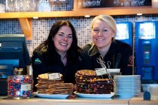 Cafét vid Gustavsbacken