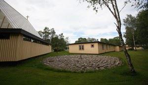 Stiftsgården Tallnäs, Labyrinten