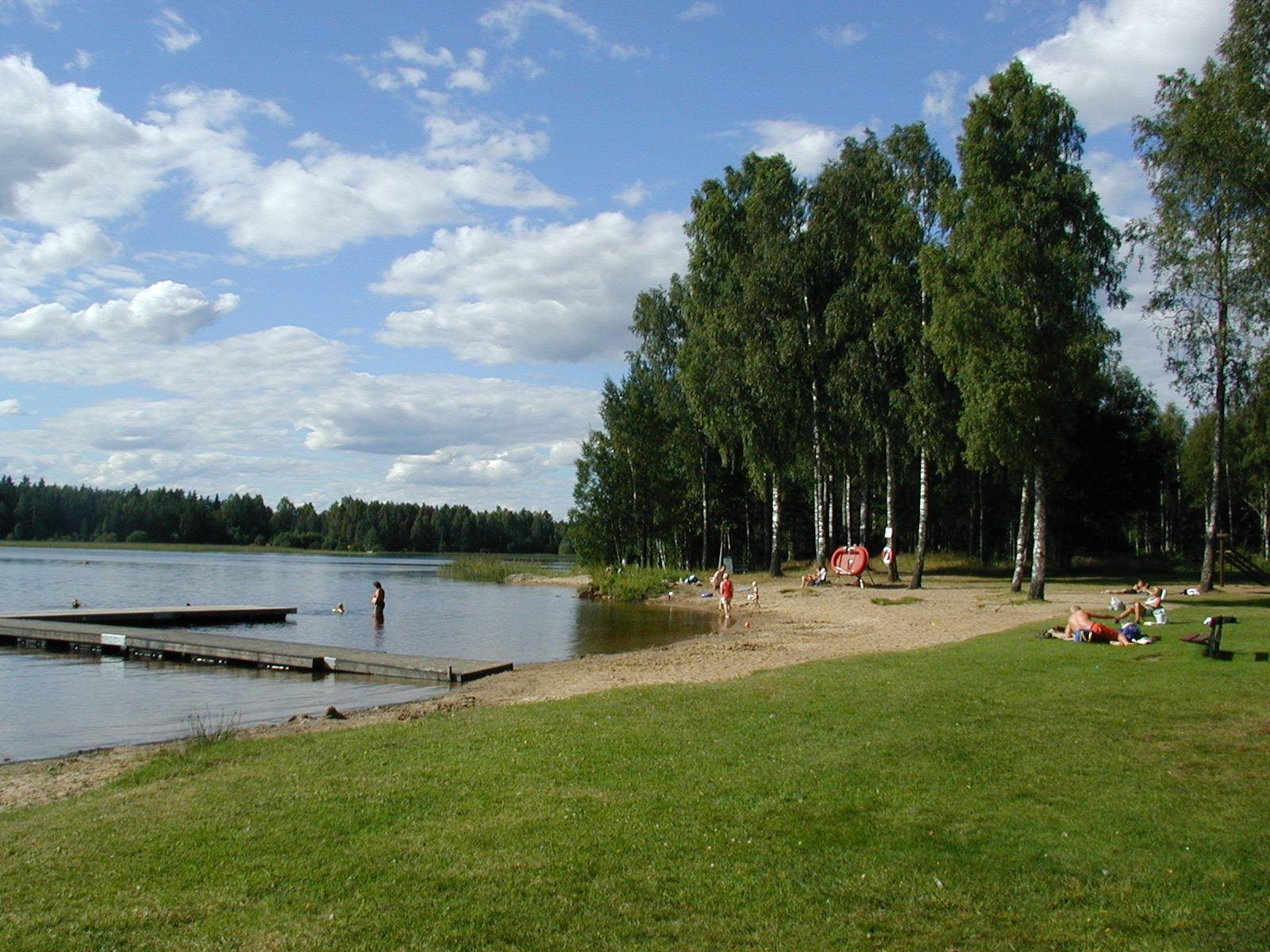 Bada i Linnesjön, Vaggeryds kommun