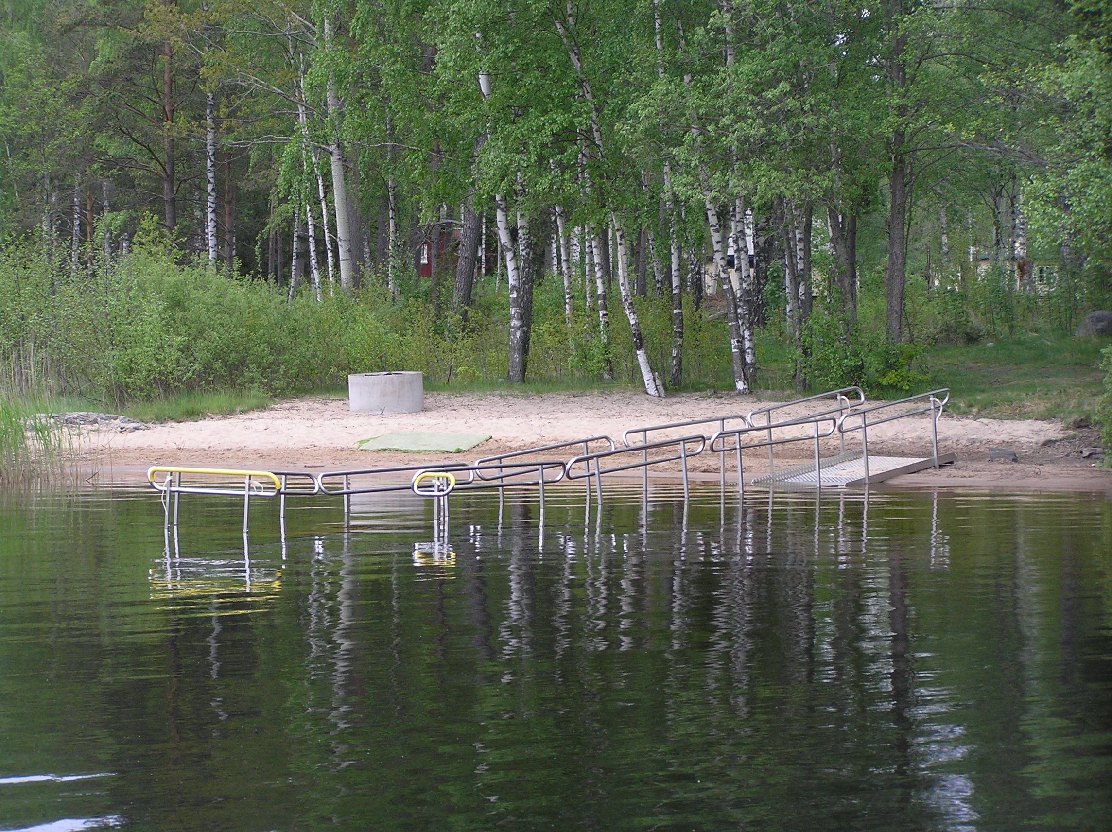 Vaggeryds kommun, Ramp ner i vattnet