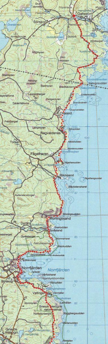 Naturskyddsföreningen Nordanstig,  © Naturskyddsföreningen Nordanstig, Kustleden - The Coastal Trail