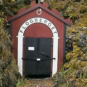 Flogbergets gruvor