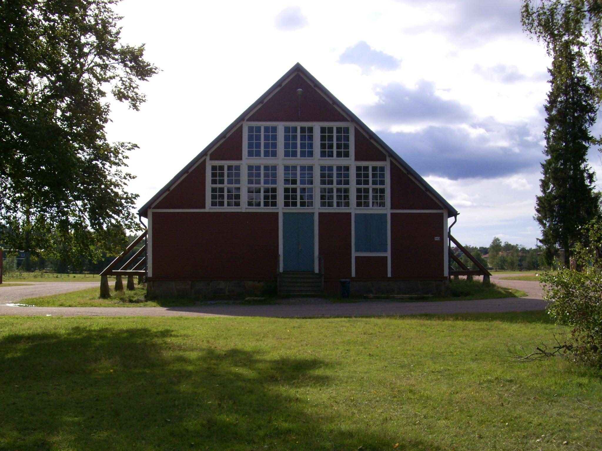 Vaggeryds kommun, Västra lägret - Lägerhyddan