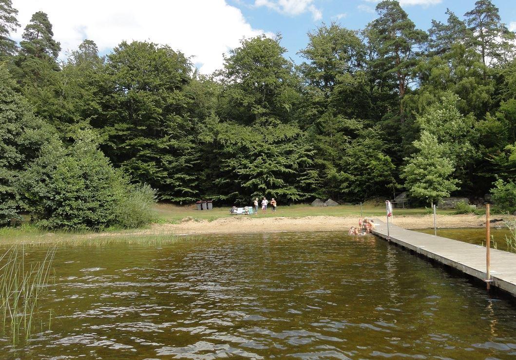 Emilia Lindberg, Oruddens badplats
