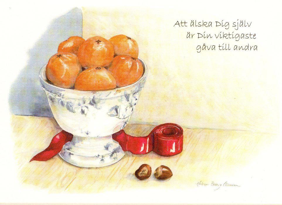Helena Boberg Oscarsson, Vykort