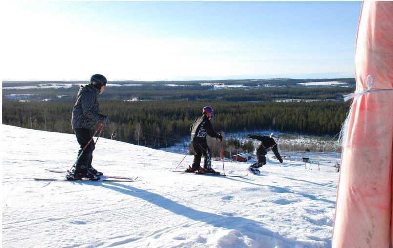 Gertrud Persson, Ålidbergets skidanläggning