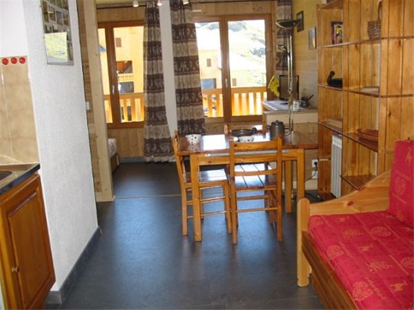 Lägenhet för upp till 3 personer med 1 rum på Cimes de Caron - Val Thorens