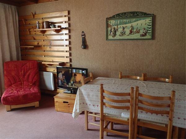 Lägenhet för upp till 6 personer med 2 rum på Lac Blanc