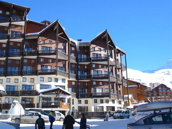 Lägenhet för upp till 3 personer med 1 rum på Silveralp - Val Thorens