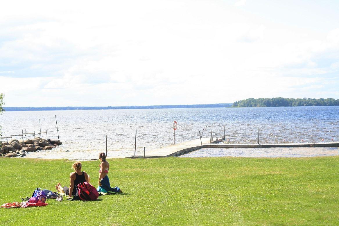 Emilia Lindberg, Korsholmen beach, Bromölla