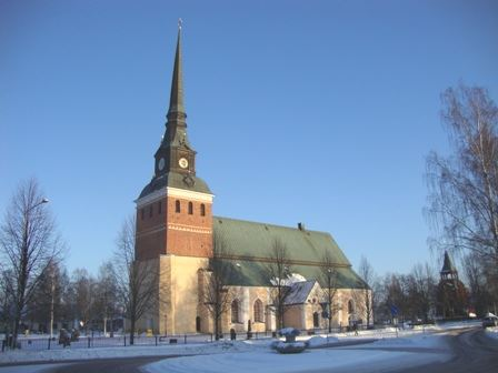 Midnattsmässa i Mora kyrka
