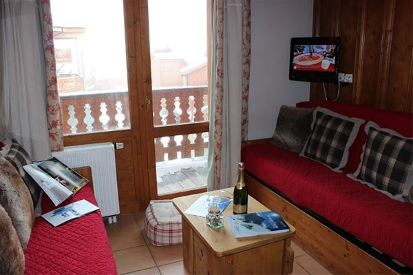Lägenhet för upp till 6 personer med 2 rum på Chalet 6 Quartier Balcons - Val Thorens