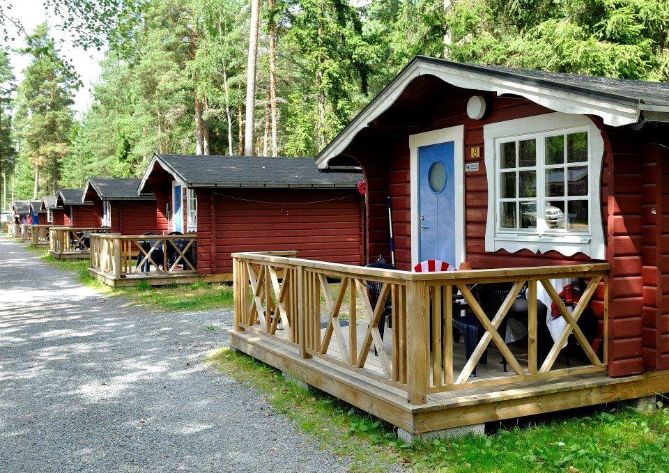 Karlstad Swecamp Bomstadbaden/Stugor