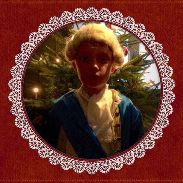 The children's Christmas preparations at Blekinge Museum