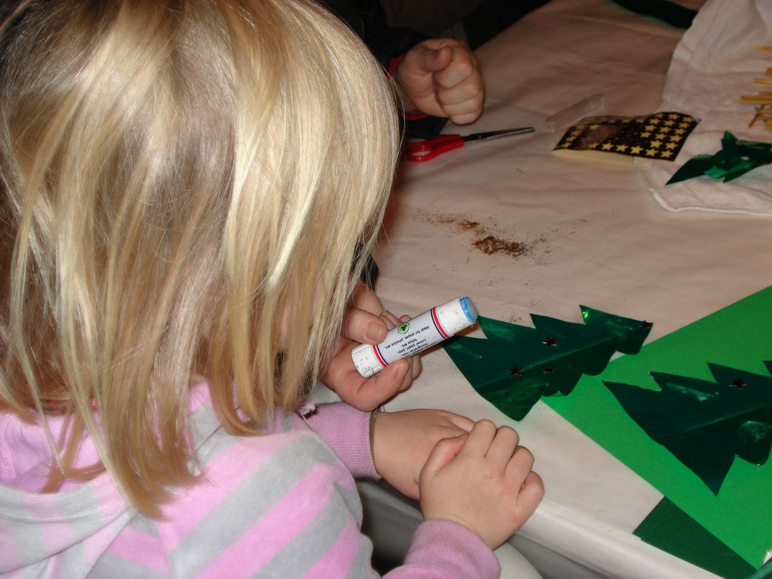 The children's Christmas preparations at Blekinge Museum