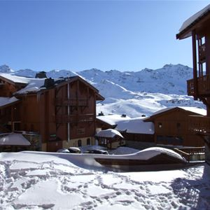 CHALET 6 QUARTIER BALCONS 646 / APARTMENT 2 ROOMS 4 PERSONS - 3 SILVER SNOWFLAKES - VTI