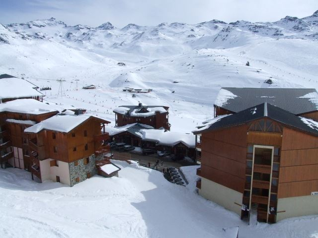 BEAU SOLEIL 4 / STUDIO 4 PERSONS - 3 SILVER SNOWFLAKES - VTI
