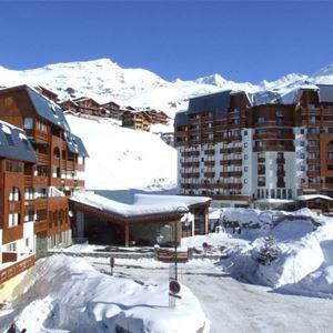 CIMES DE CARON 2703 / STUDIO 2 PERSONS - 2 BRONZE SNOWFLAKES - VTI