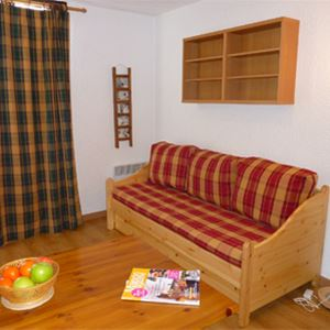 HAUTS DE VANOISE 502 / 1 room 2 people