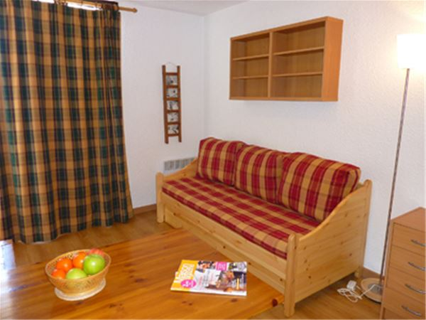 HAUTS DE VANOISE 502 / 1 room 2 people
