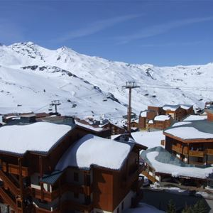 HAUTS DE VANOISE 604 / STUDIO 3 PERSONS - 1 BRONZE SNOWFLAKE - VTI