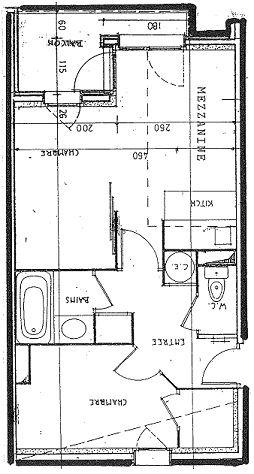 LE JOKER 32 / 3 rooms 6 people