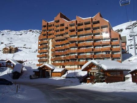 LAC DU LOU 403 / STUDIO 4 PERSONS - 2 SILVER SNOWFLAKES - VTI