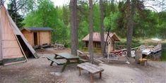 Foto: Micael Sjödin, Bredsjöns vildmarksudde i Lögdö vildmark