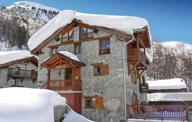 Feriehus Chalet Ecureuil for opp til 8 personer med 4 rom - Val d'Isère