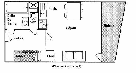 SCHUSS 109 / 1 room 4 people