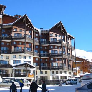SILVERALP 684 / APARTMENT 2 ROOMS CABIN DUPLEX 5 PERSONS - 1 BRONZE SNOWFLAKE - VTI