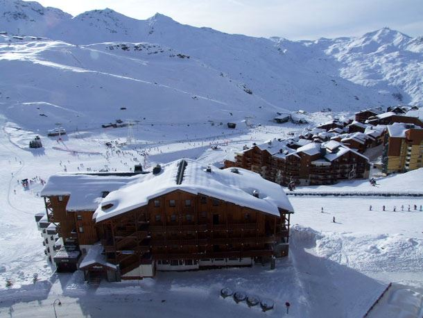 TROIS VALLEES 1003 / 2 ROOMS CABIN 6 PERSONS - 1 BRONZE SNOWFLAKE - VTI