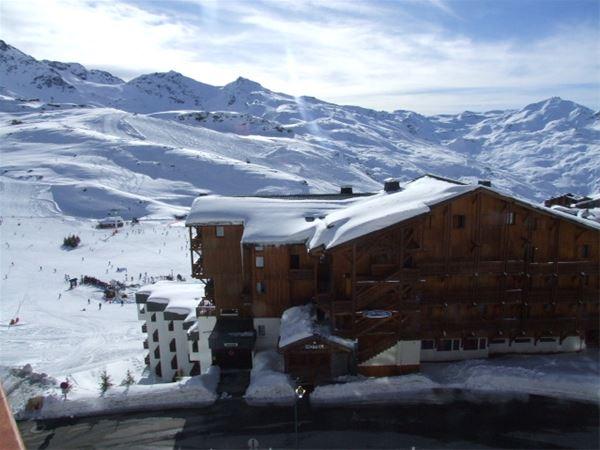 TROIS VALLEES 412 / STUDIO CABIN 4 PERSONS - 1 BRONZE SNOWFLAKE - VTI
