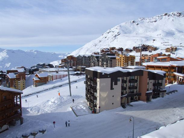 TROIS VALLEES 513 / 2 ROOMS 4 PEOPLE TYPE A COMFORT