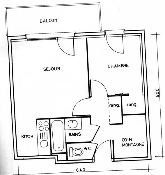 VAL SET 2301 / 2 rooms 6 people