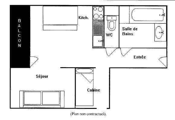 VANOISE 152 / 2 rooms 4 people