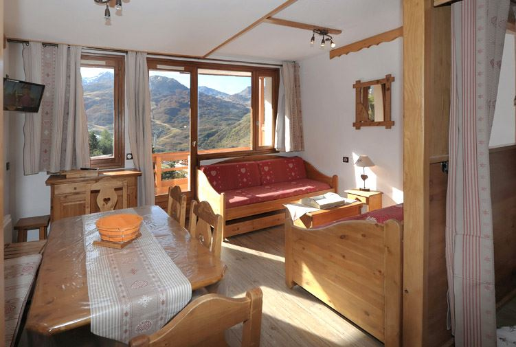 2 Rooms 6 Pers ski-in ski-out / BOEDETTE 604