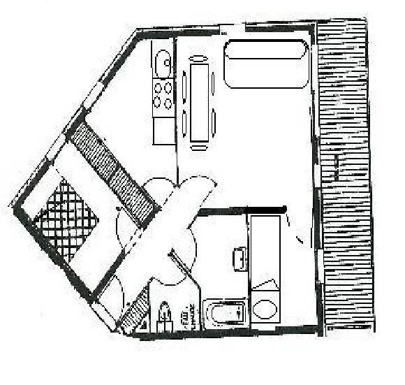 2 Pièces cabine 6 Pers skis aux pieds / BALCONS DE TOUGNETTE 26