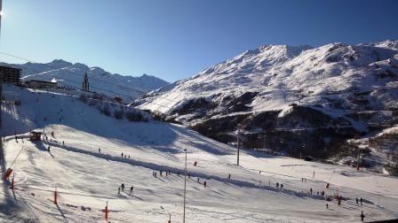 3 Pers Studio ski-in ski-out / CARON 505